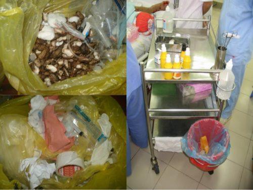 hút bể phốt chất thải tại các bệnh viện
