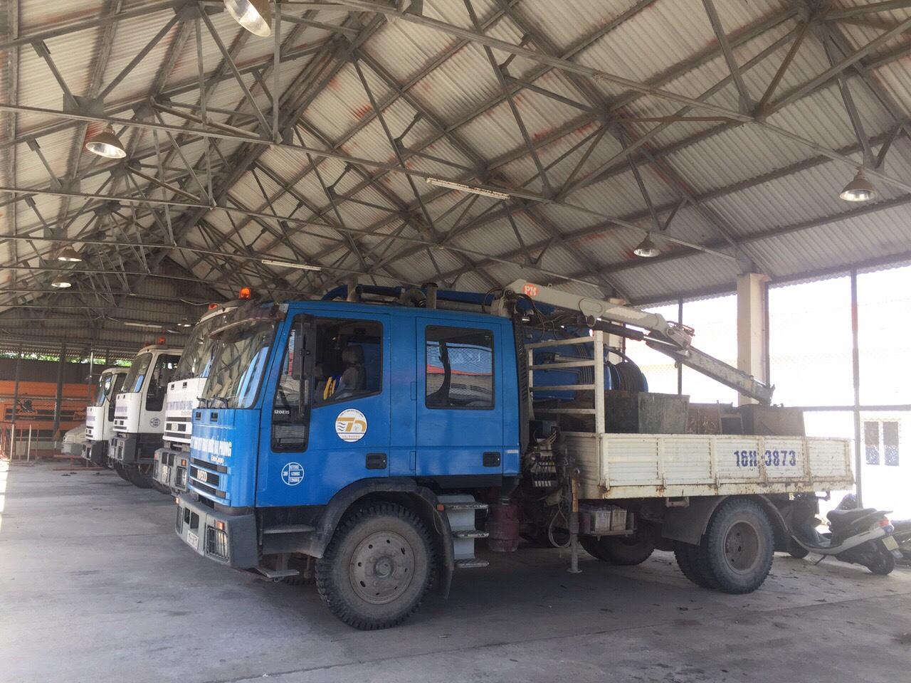 Dịch vụ vệ sinh đường ống thoát nước - Hút bể phốt tại Hải Phòng