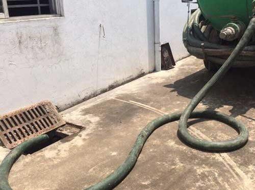 Tránh bị lừa khối lượng hút bể phốt - Hút bể phốt tại Hải Phòng