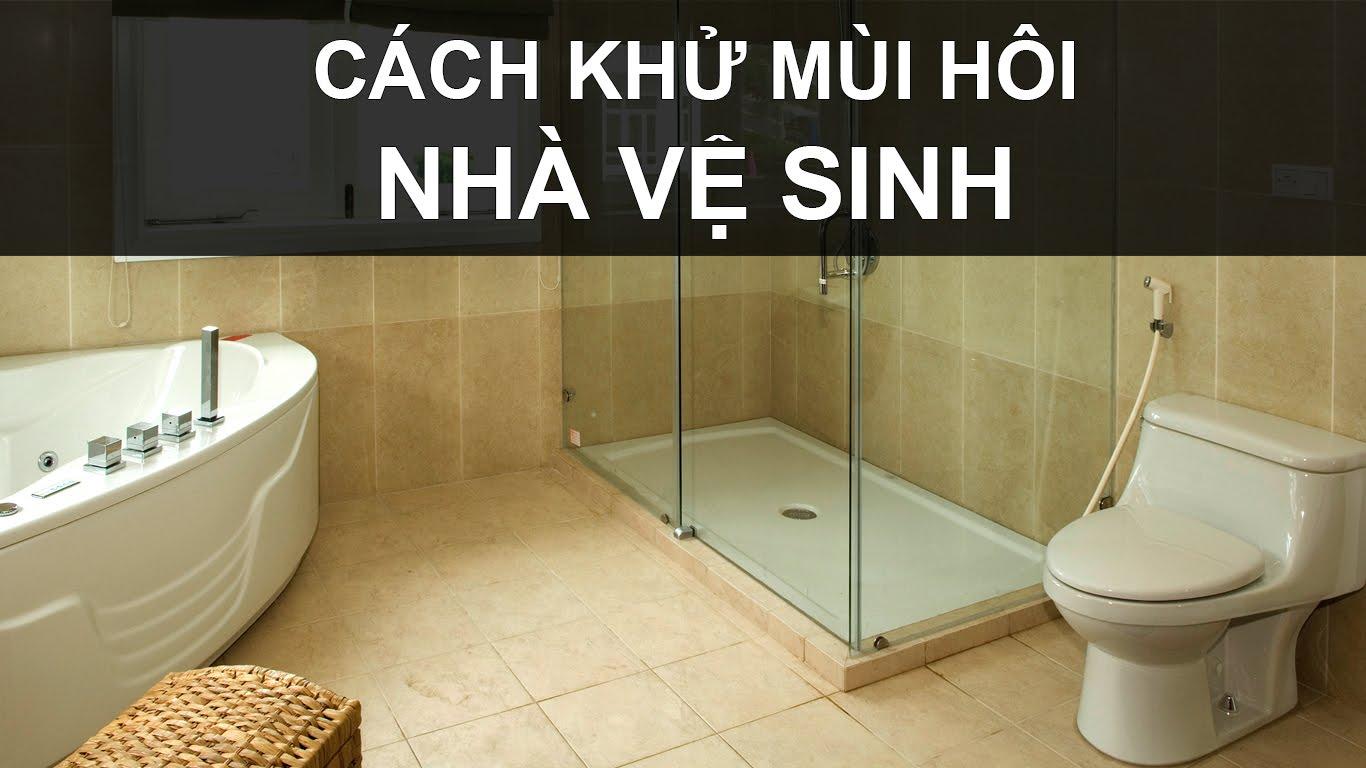 Khử mùi hôi nhà vệ sinh - Hút bể phốt tại Hải Phòng