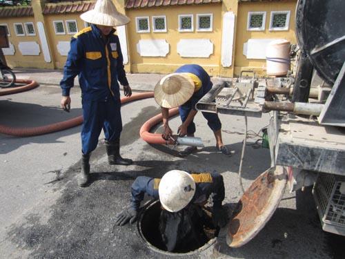 Nạo vét hố ga - hút bể phốt tại Hải Phòng